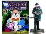DC Chess Figurine Collection #29 Ventriloquist Black Pawn Eaglemoss